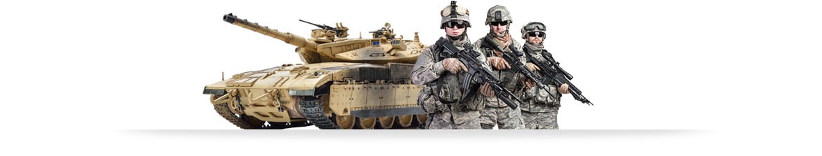 military electronic equipment