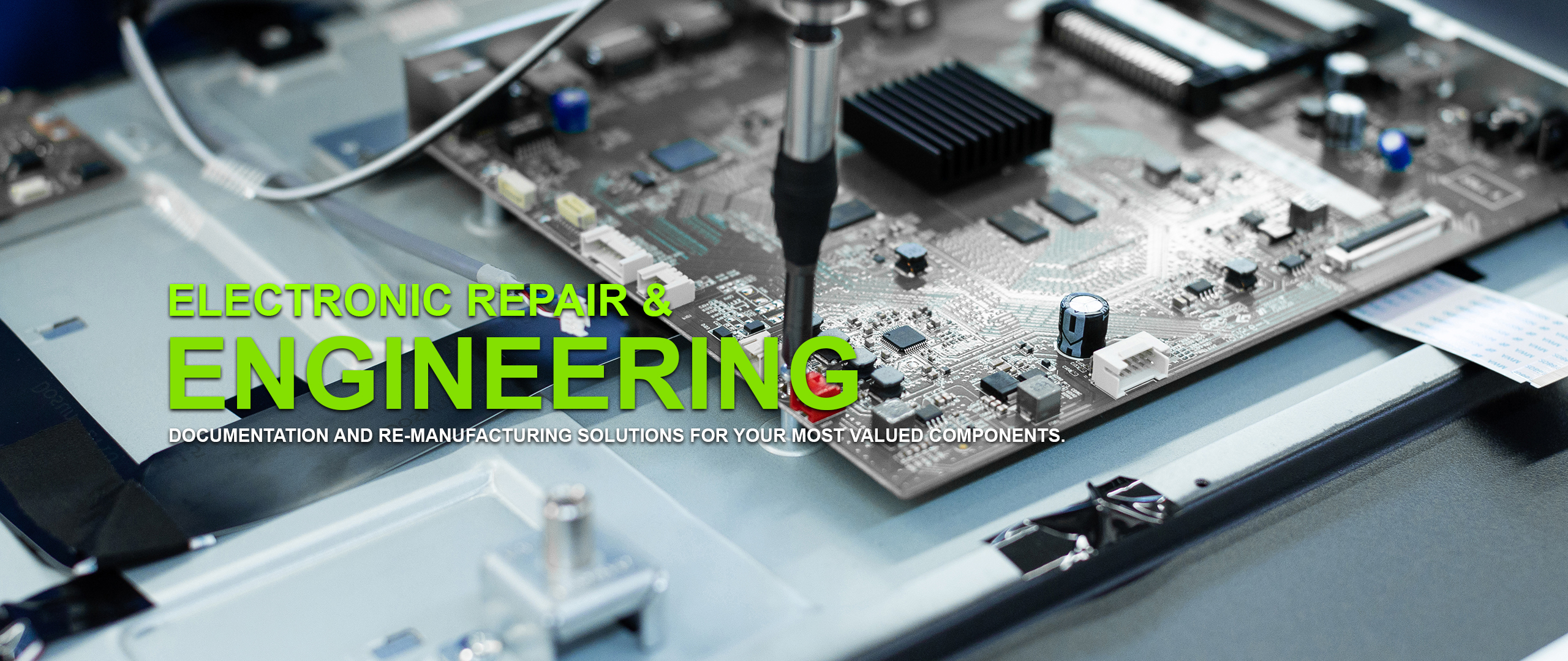 electronic engineering and repair